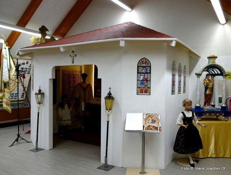 Die neu erbaute Museumskapelle