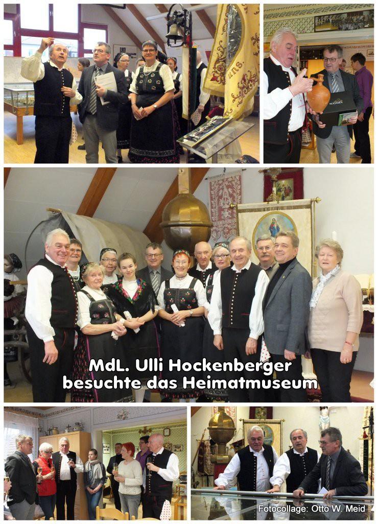 MdL. Ulli Hockenberger im Heimatmuseum